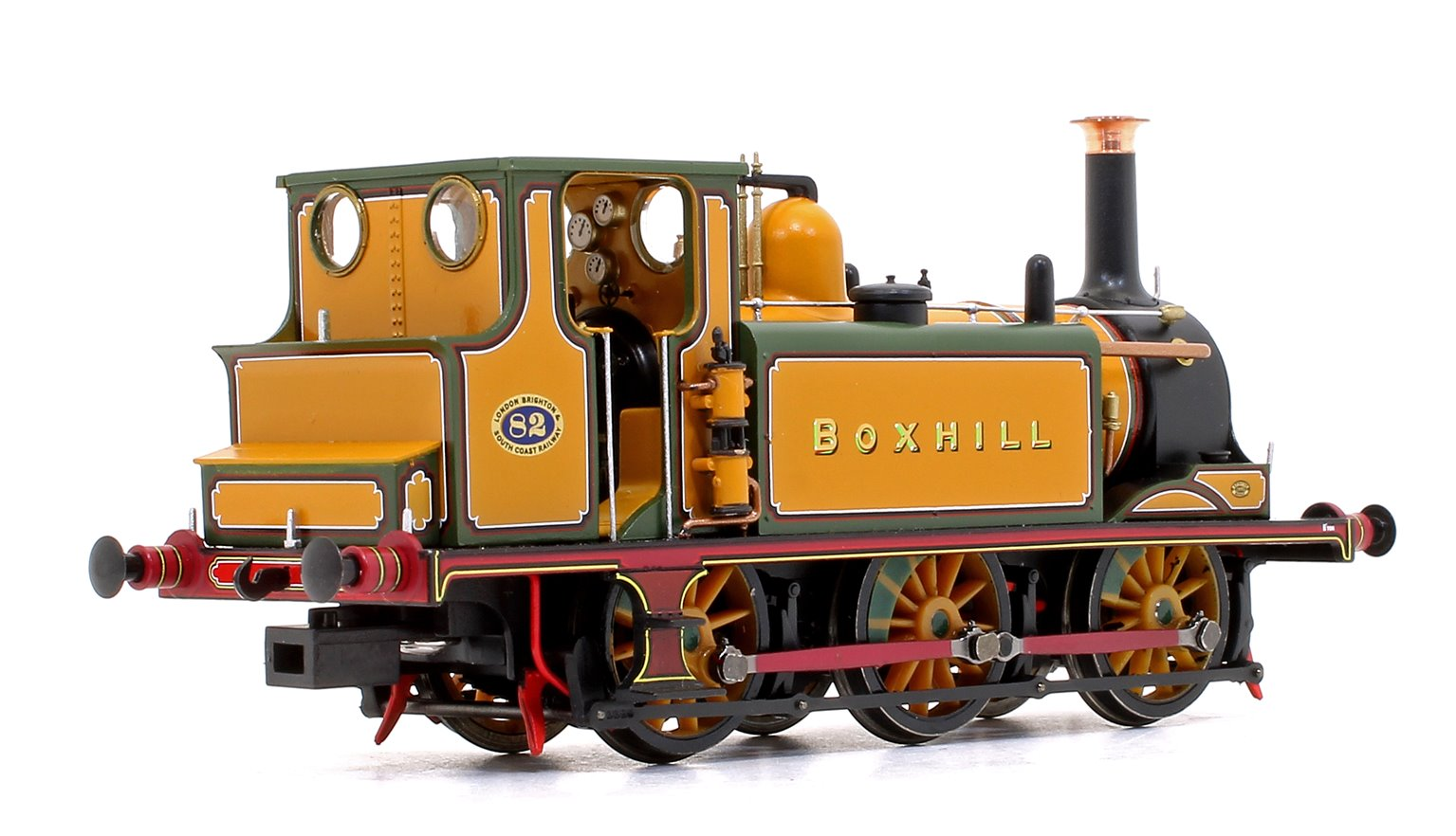 Stroudley Terrier A1 Class 'Boxhill' Improved Engine Green 0-6-0 Tank Locomotive No.82 DCC Ready