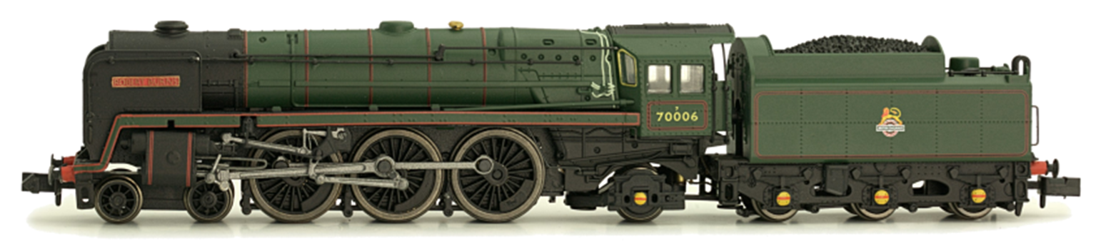 Class 7MT Britannia 4-6-2 Firth of Forth 70051 BR Lined Green Late Crest