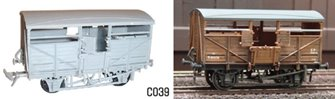 BR Cattle Wagon Plastic Kit