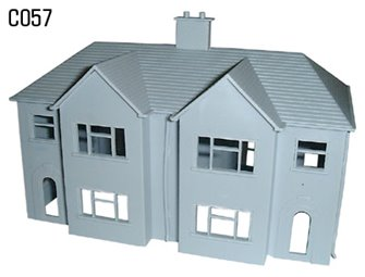 Semi-Detached House Plastic Kit