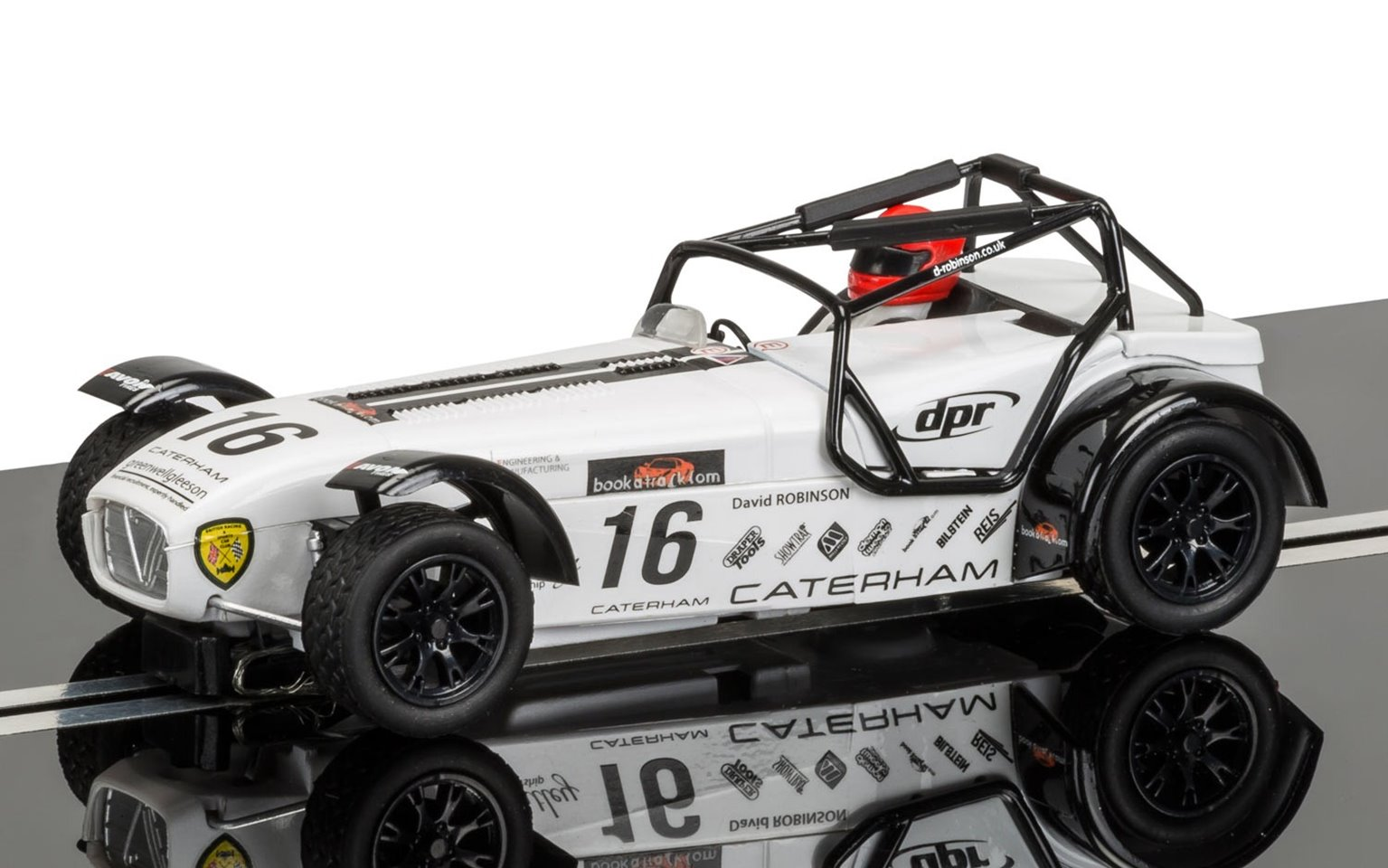 Caterham Superlight R300-S Championship 2015 No.16 Slot Car