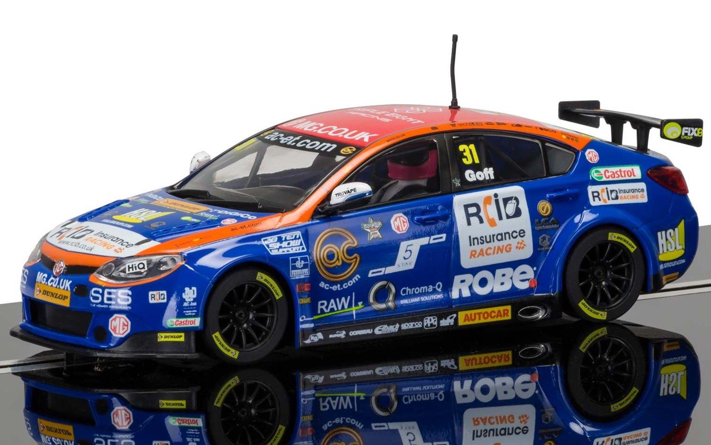 BTCC MG6, Jack Goff Triple Eight Racing No.31 Brands Hatch Slot Car