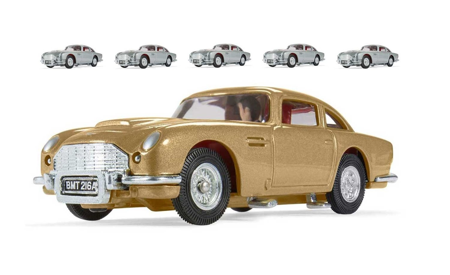 cc04206 corgi box of six james bond 007 aston martin db5