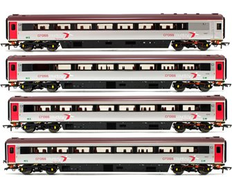 Rake of 4 Cross Country Trains by Arriva Mk3 Sliding Door Coaches