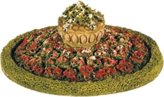 Round Flower Bed/Hedge/Urn