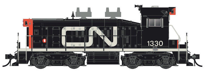 CN SW1200RS: 1961 Noodle #1330 - DC/DCC/Sound