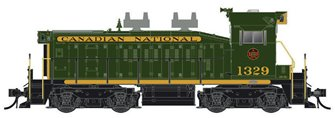 CN SW1200RS: 1954 Green #1367 - DC/Silent