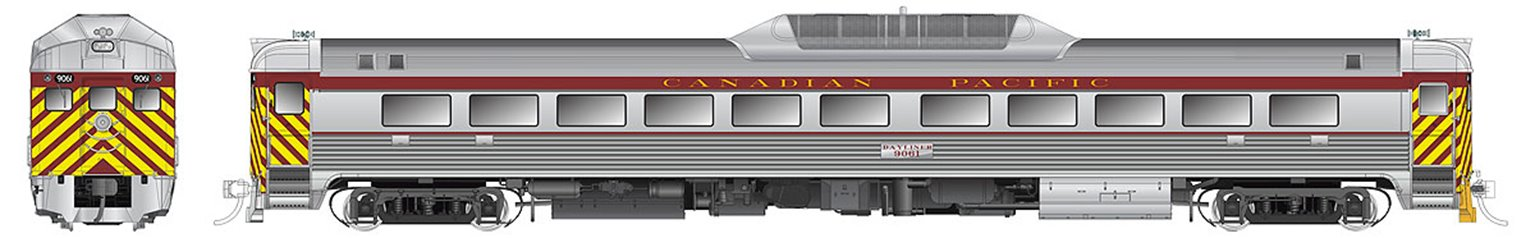 BUDD RDC-1 CPR - Maroon (Phase 2) #9063 DC (Silent)