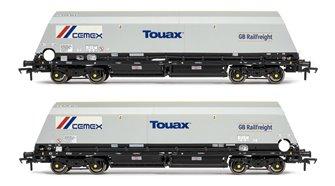 Cutdown HYA Wagon Twin Pack - w/GBRf/Cemex logos (Pack 3)