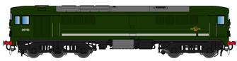 Class 28 D5700 Plain BR Green