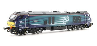 Class 68 Evolution 68001 DRS Livery DCC Fitted