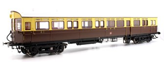 Autocoach GWR Twin Cities Crest N41 Chocolate & Cream - Light Bar & DCC Fitted
