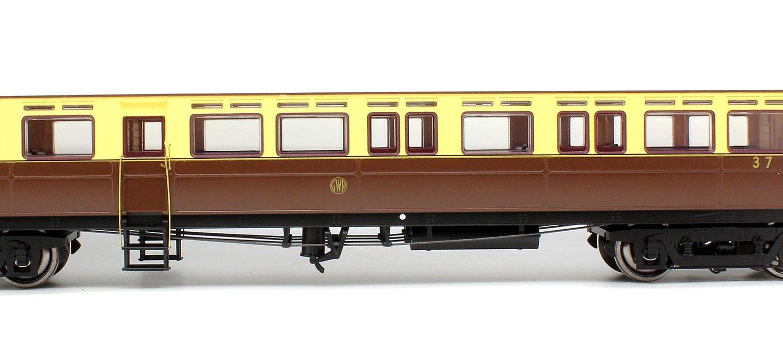 Autocoach GWR Shirtbutton N37 Chocolate & Cream - Light Bar & DCC Ready