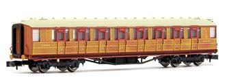 Gresley LNER Teak 3rd Class 60648