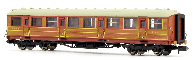 Gresley Coach LNER Teak 1st Class 318767