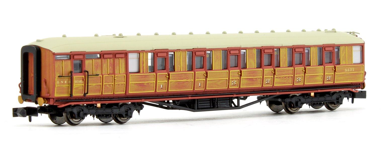 Gresley Coach LNER Teak Brake Composite 5531