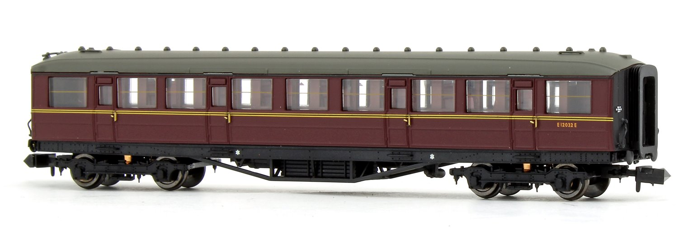 Gresley BR Maroon 2nd Class E12032E
