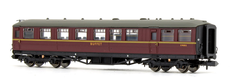 Gresley BR Maroon Buffet E9035E