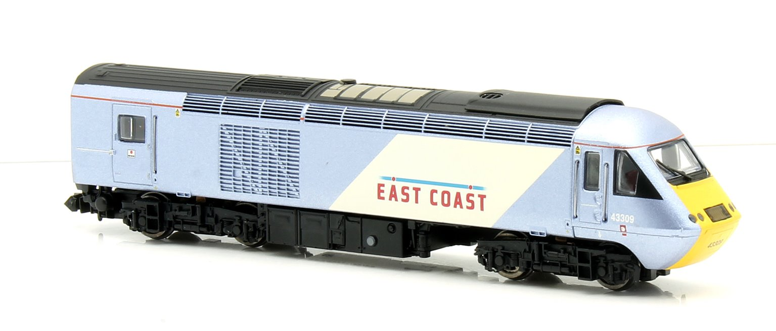 Class 43 HST East Coast 43309/306 4 Car Set