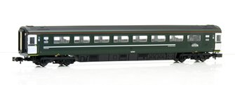 Mk3 GWR Green 2nd Class Coach 42300