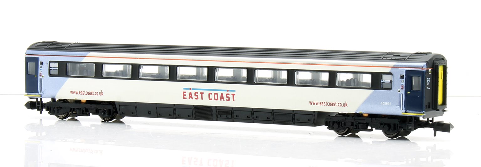 Mk3 East Coast 2nd Class Coach 42091