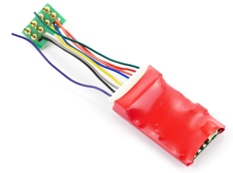 Ruby Series 2 Function Standard DCC Decoder 8 Pin