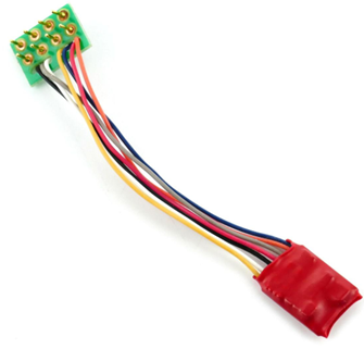Ruby Series 2 Function Small DCC Decoder 8 Pin