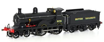 Wainwright D Class BR Sunshine Black 4-4-0 Steam Locomotive No.31731