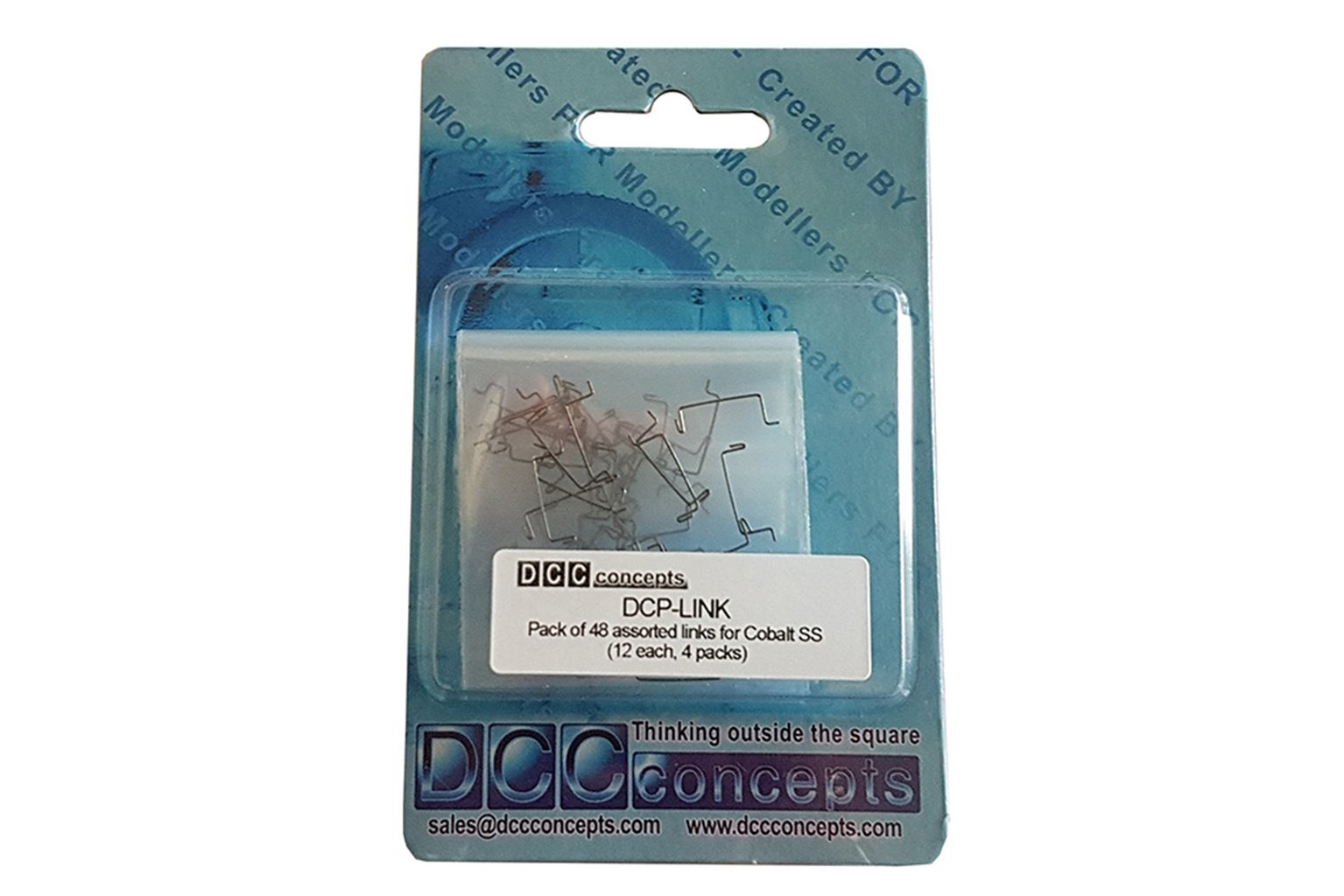 Pack of 48 Assorted Links for Cobalt-SS (12 each, 4 types)