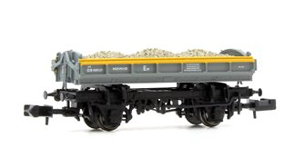 Mermaid Wagon with load Engineers Grey/Yellow 'Dutch' ZJV DB989117