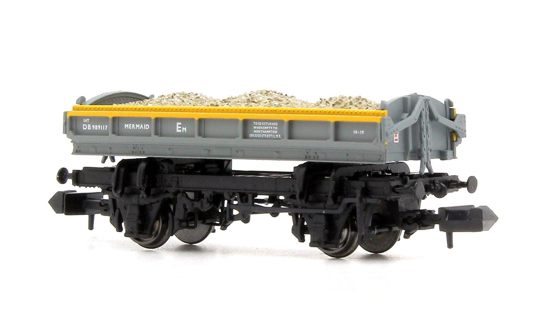 Mermaid Wagon with load Engineers Grey/Yellow 'Dutch' ZJV DB989117