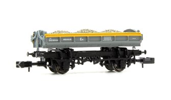 Mermaid Wagon with load Engineers Grey/Yellow 'Dutch' ZJV DB989466