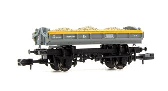 Mermaid Wagon with load Engineers Grey/Yellow 'Dutch' ZJV DB989484