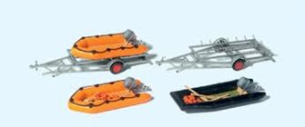 Rubber Dinghys (3) & Trailers (2) Kit