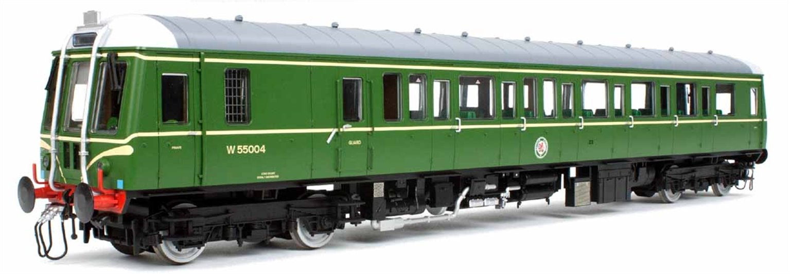 Class 122 55004 BR Green (Speed Whiskers)