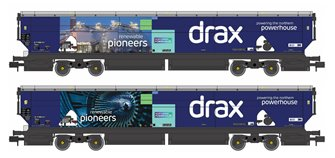 Drax Power IIA-D Biomass Hopper Twin Pack (Renewable Pioneers Drax Livery) - Pack A