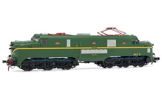 Electrotren (H0 1:87) Electric locomotive RENFE 277.047 (green and yellow) DC