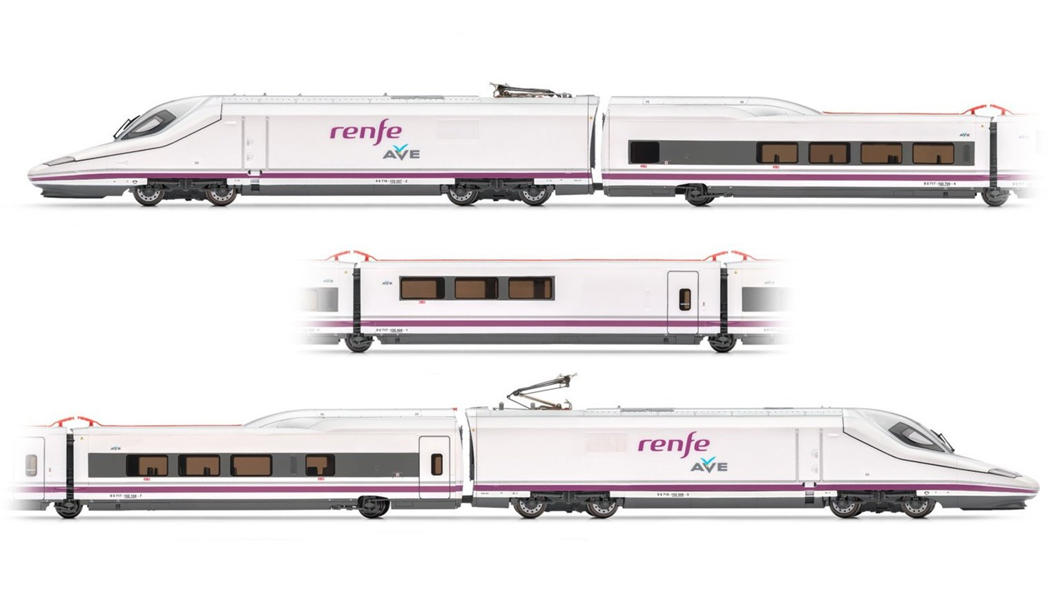High-Speed Train AVE S-102 - Renfe Operadora