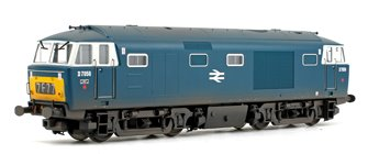 Class 35 Hymek D7056 BR Blue (Yellow Panels & White Cab Windows) Weathered Edition