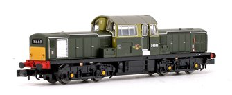 Class 17 D8585 BR Green (Small Yellow Panels) Diesel Locomotive