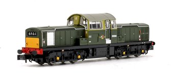 Class 17 D8594 BR Green (Small Yellow Panels) Diesel Locomotive