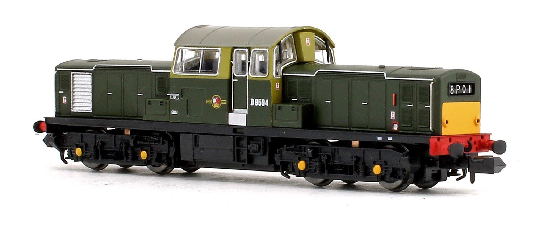 Class 17 D8594 BR Green (Small Yellow Panels) Diesel Locomotive