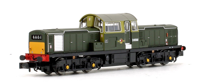 Class 17 D8560 BR Green (Small Yellow Panels) Diesel Locomotive