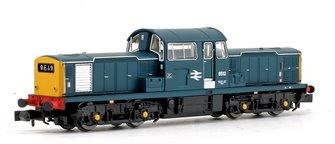 Class 17 8512 BR Blue Diesel Locomotive