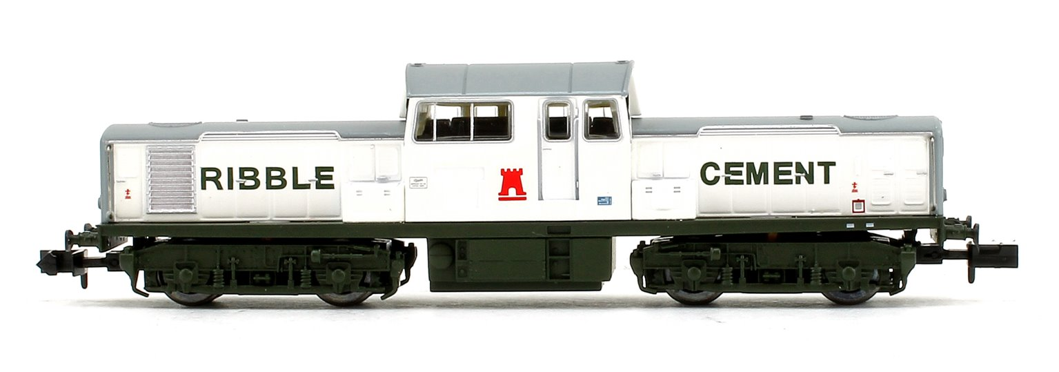 Class 17 Ribble Cement White & Green Diesel Locomotive