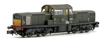Class 17 D8600 BR Green (Small Yellow Panels) Weathered Edition