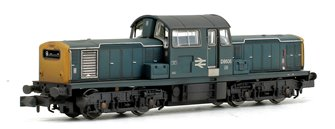 Class 17 D8606 BR Blue Diesel Locomotive (Weathered Edition)