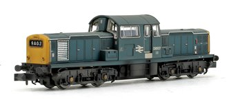 Class 17 D8507 BR Blue Diesel Locomotive (Weathered Edition)
