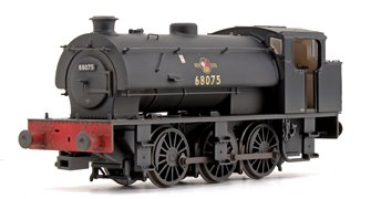 J94 Saddle Tank 68075 BR Black (Late Crest) Weathered Edition
