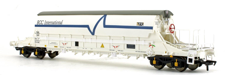 PBA Tiger Wagon TRL 11606 ECC International White